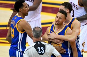 Report: Several Cavs Players Pissed Off at Warriors Guard Stephen Curry