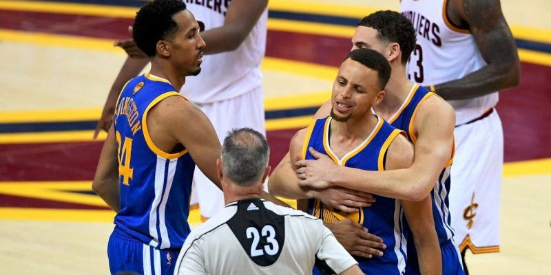 Several Cavaliers 'Highly Agitated' By Stephen Curry's Game 3 Squat