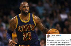 LeBron James Subtly Throws Shade at Dan Gilbert
