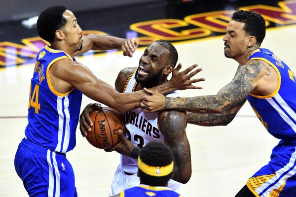 Matt Barnes Warriors Cavs LeBron James
