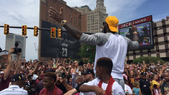 LeBron James and City of Cleveland
