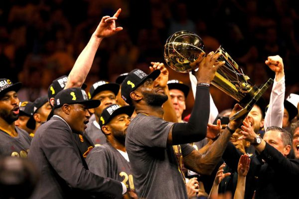 LeBron James championship Cleveland Cavaliers