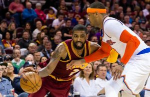 Kyrie Irving and Carmelo Anthony Cavs Knicks