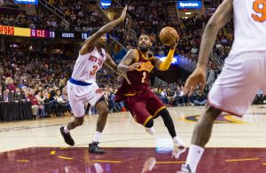 Kyrie Irving Cavs Knicks
