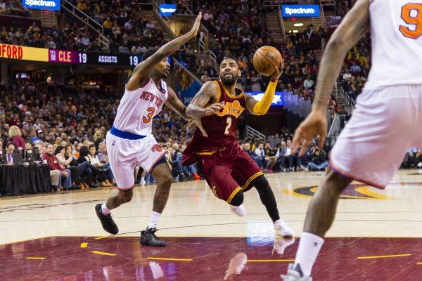 Kyrie Irving Cavs Knicks