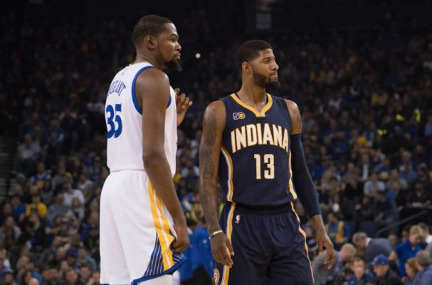 Kevin Durant and Paul George