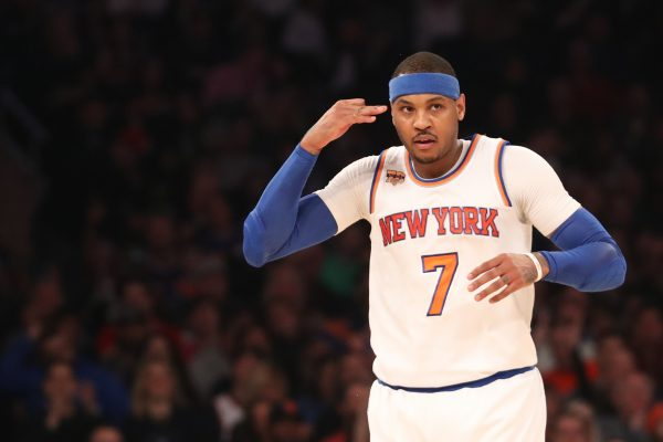 Carmelo Anthony open to waiving no-trade clause for Rockets or Cavaliers