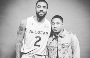 Kyrie Irving and Wackstar