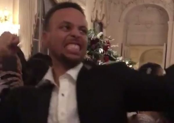 Stephen Curry Mocking LeBron James