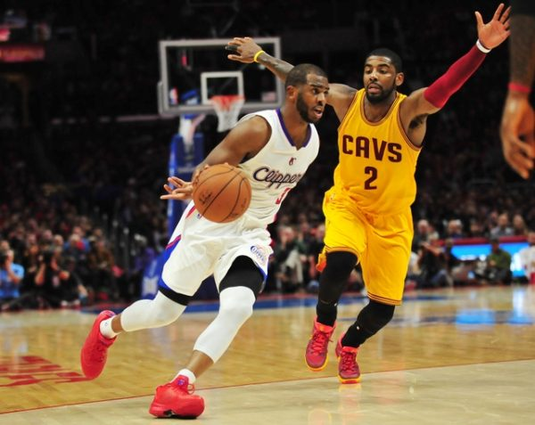 Chris Paul and Kyrie Irving Cavs