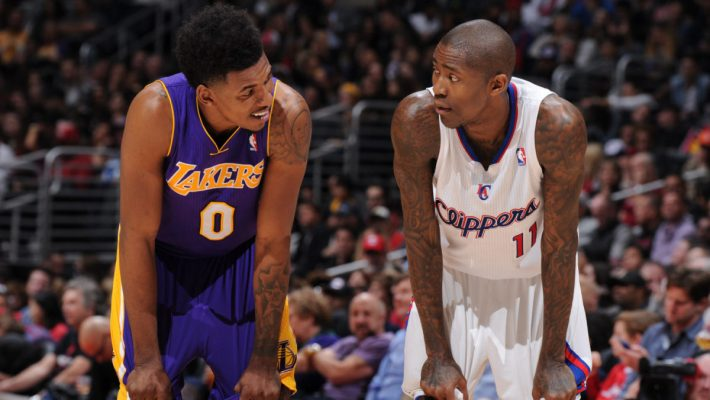 Nick Young and Jamal Crawford
