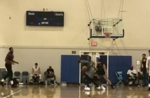 Carmelo Anthony and Kyrie Irving Pickup Game