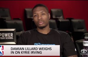 Damian Lillard Weighs in on Kyrie Irving