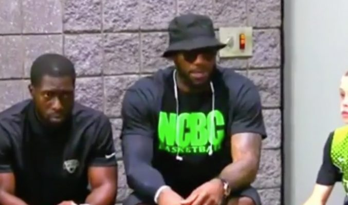 Video: LeBron James Gives Son's AAU Team Advice He Likely Learned in Miami
