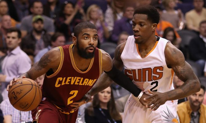 Kyrie Irving and Eric Bledsoe