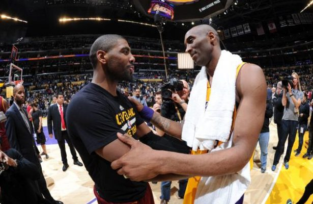 Kyrie Irving and Kobe Bryant
