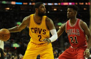 Kyrie Irving and Jimmy Butler Cavs Bulls