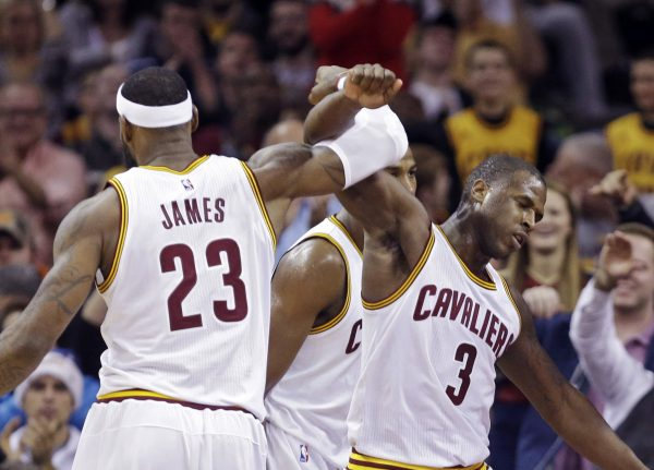 LeBron James and Dion Waiters Cavs