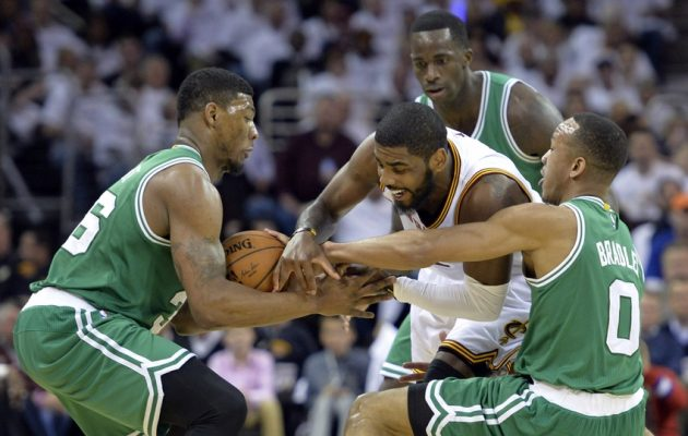 Kyrie Irving and Boston Celtics