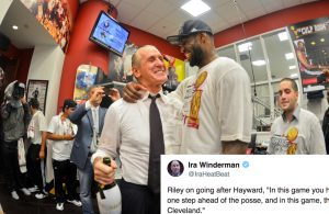 Heat President Pat Riley Takes Subtle Shot at LeBron James and Cavs