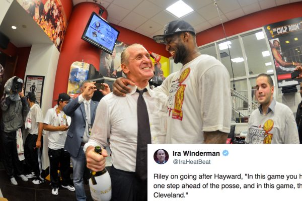 Heat President Pat Riley Takes Subtle Shot at LeBron James and Cavs