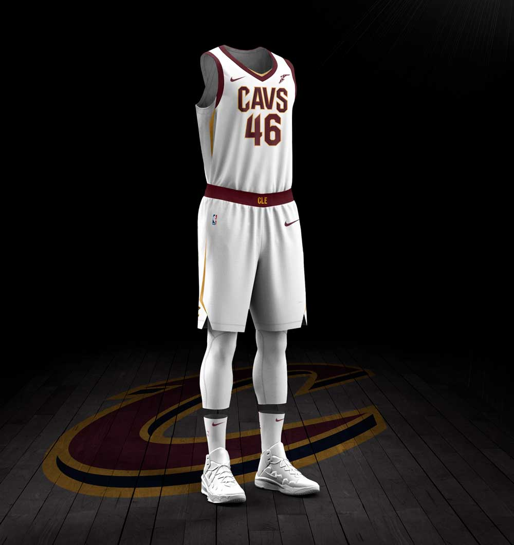 "acaed6513 The Cavaliers described the incredible new look in a press release  ""The  uniforms combine the updated and ..."