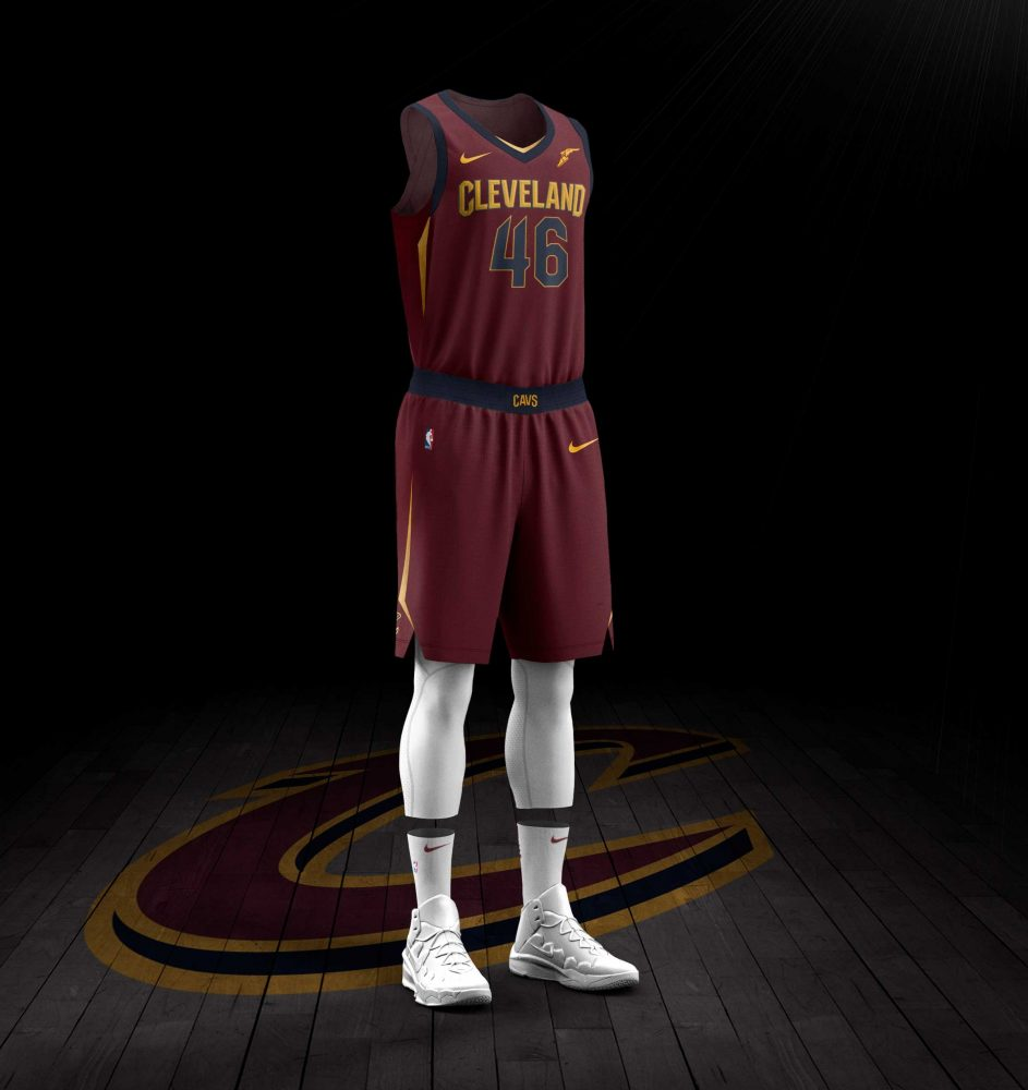 Cavs New Uniforms 2017-18