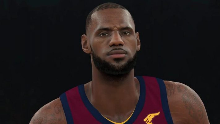 LeBron James NBA 2K18