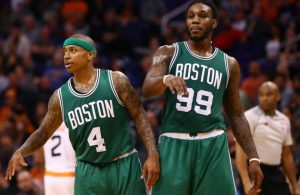 Isaiah Thomas and Jae Crowder