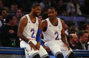Kyrie Irving and John Wall