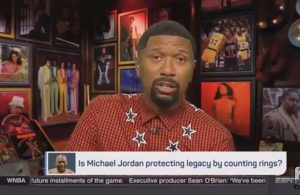 Jalen Rose LeBron James Michael Jordan