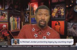 Jalen Rose LeBron James Michael Jordan
