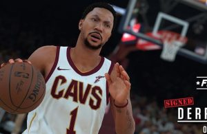 Derrick Rose NBA 2K18