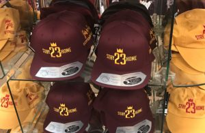 Cavs Fans Already Have Shirts and Hats Urging LeBron to Stay Home in 2018