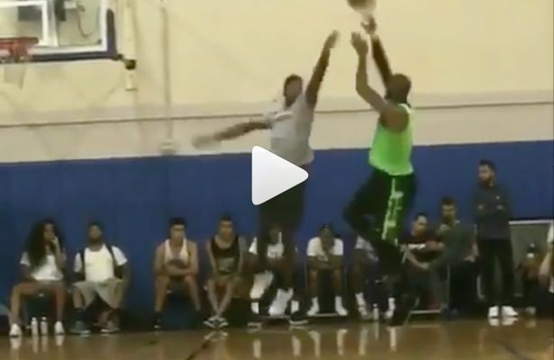 LeBron James Dominates Pickup Games at UCLA