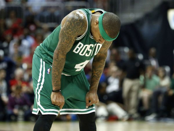 Isaiah Thomas Celtics Sad