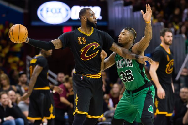 LeBron James vs. boston Celtics