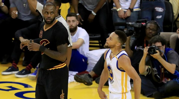 Steph Curry Denies 'Clowning' LeBron James in Video