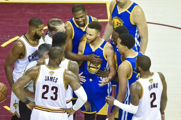 Cavs Warriors