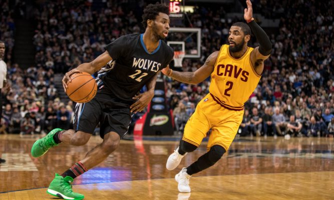 Andrew Wiggins, Kyrie Irving Cavs