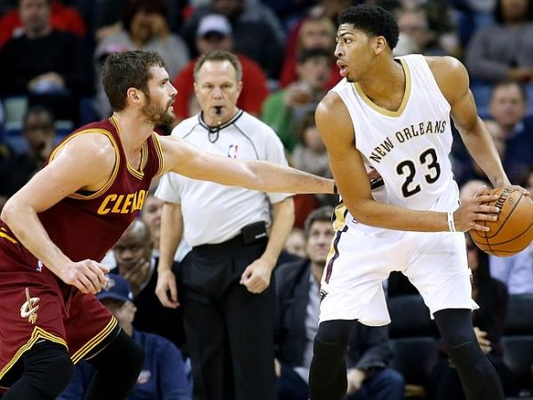Kevin Love and Anthony Davis