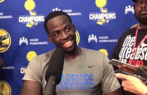 Draymond Green Golden State Warriors Interview