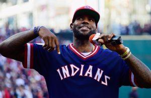 LeBron James Cleveland Indians