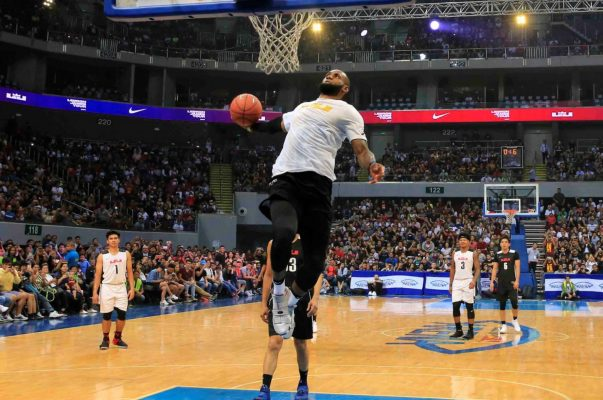 LeBron James Dunk, Manila Philippines