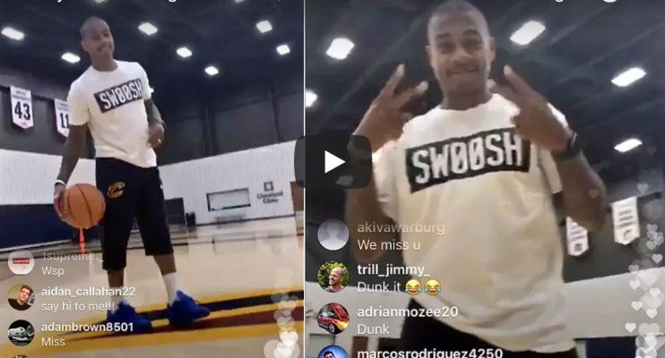 Isaiah Thomas Instagram Live