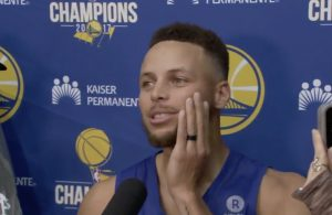 Stephen Curry Reacts to LeBron James Calling Donald Trump