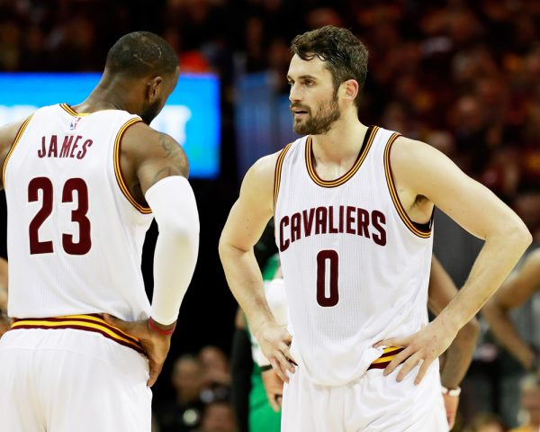 Kevin Love LeBron James Cavs