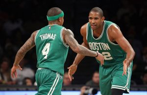 Isaiah Thomas and Al Horford