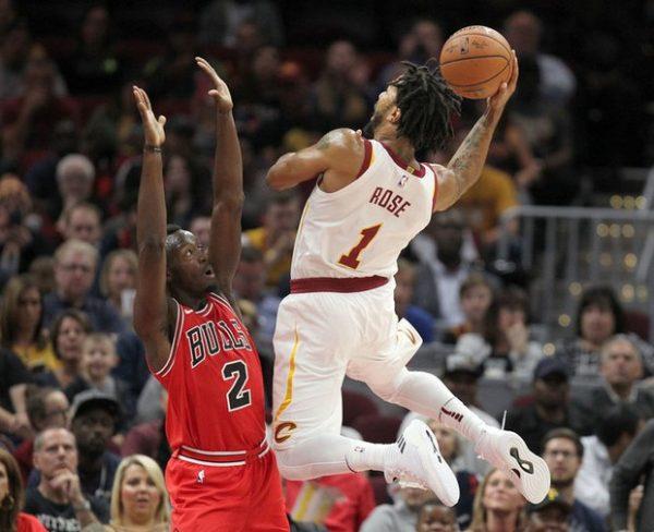 Derrick Rose Cavs Bulls
