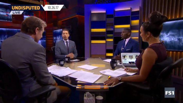 Fox Sports 1 Undisputed Chris Brousssard